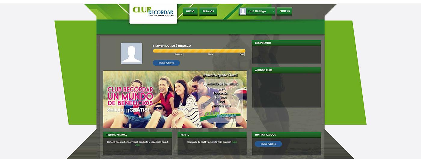 perfil Clubrecordar